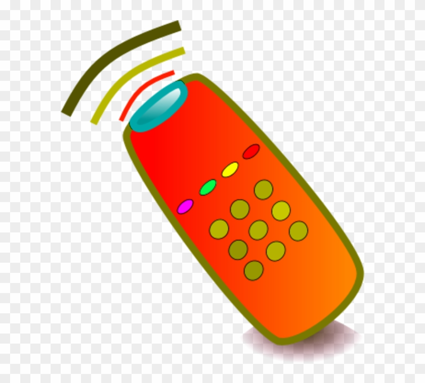 Television Remote Clipart - Cartoon Tv Remote Png - Free