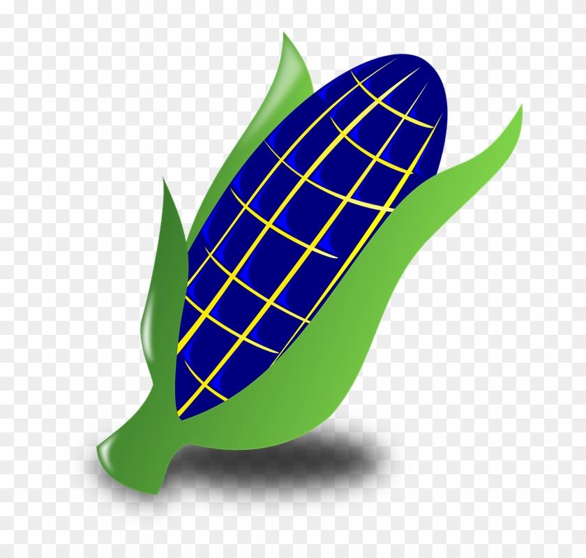 Blue Corn Clipart #23766