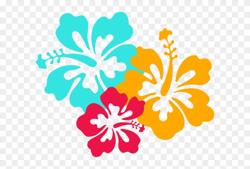 Luau - Girl - Clip - Art - Hibiscus Clip Art #23776