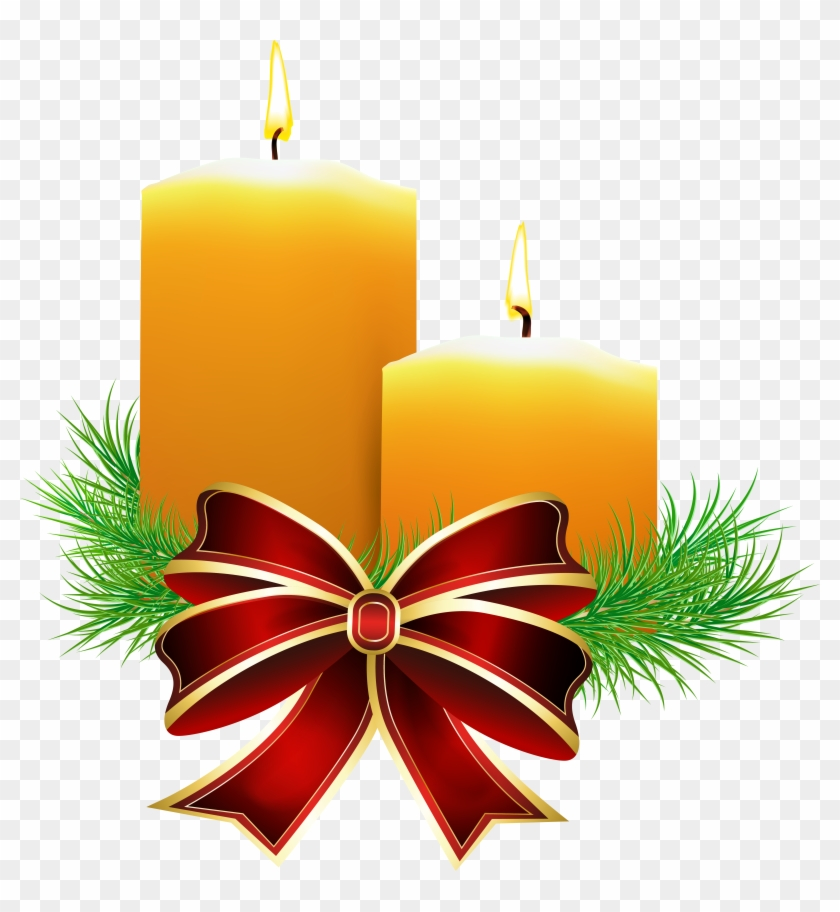 Christmas Candle Clip Art Clipart Collection - Christmas Candle Clipart #23800