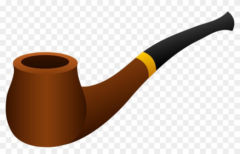 Sherlock - Corn Cob Pipe Clipart #23802