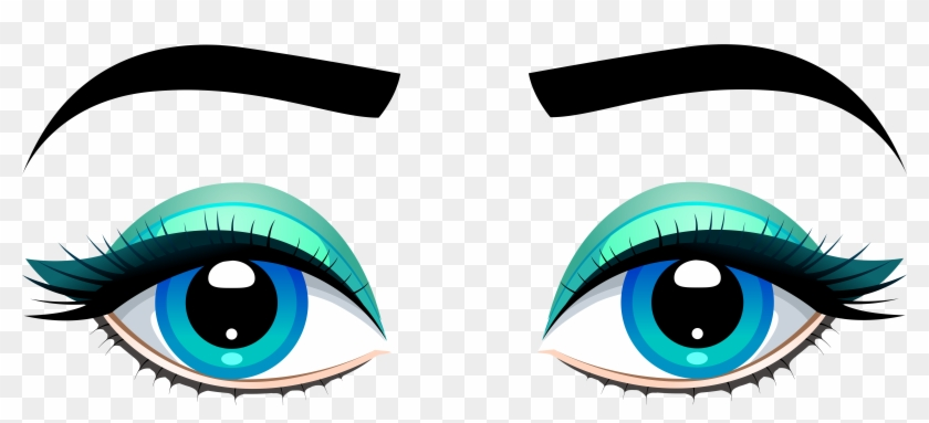Marvellous Inspiration Ideas Blue Clipart Female Eyes - Female Eyes Png #23815