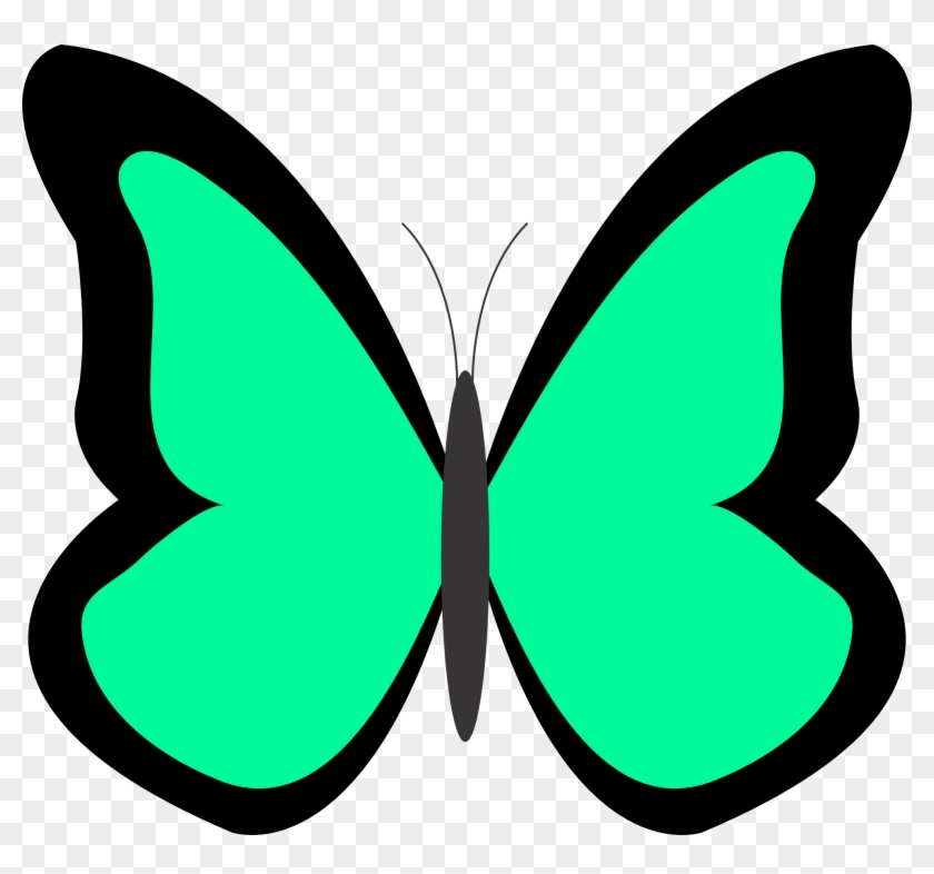 Girl Catching Spring Butterflies Spring Clip Art Clipartcow - Clip Arts Butterflies #23831