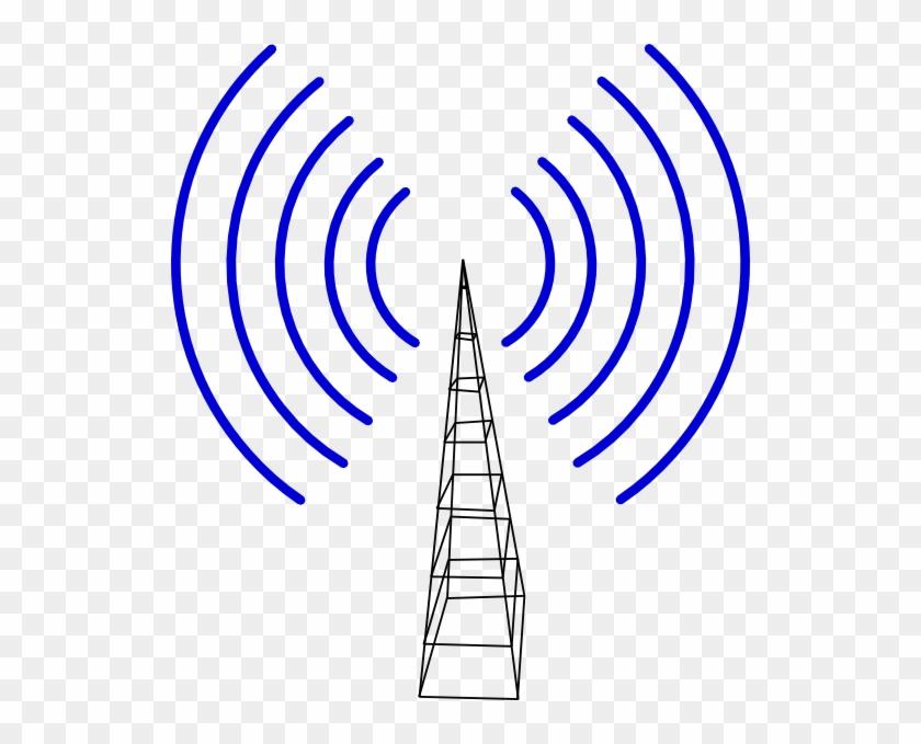 Television Antenna Clip Art At Clker - Antennas Clip Art #23834