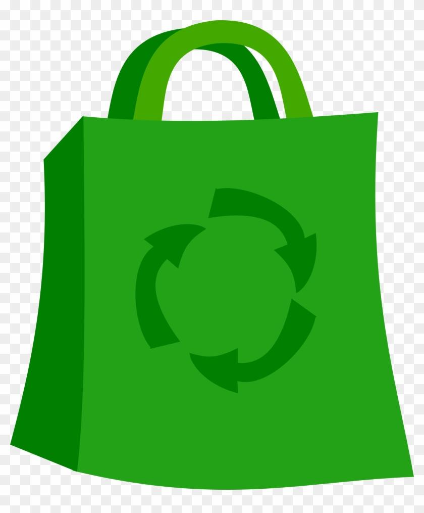Shopping Bag - Reusable Bags Clipart #23845