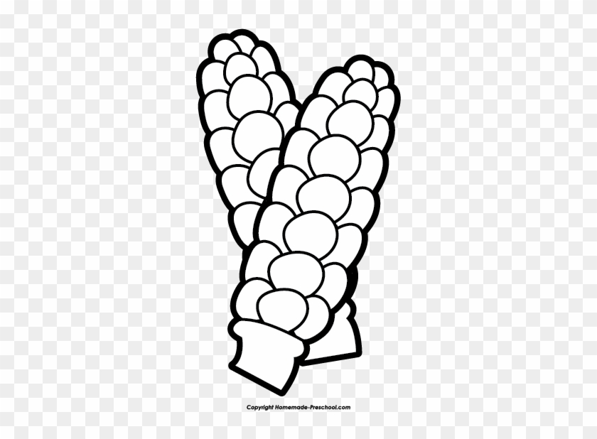 Click To Save Image - Cob Clip Art Black And White #23842