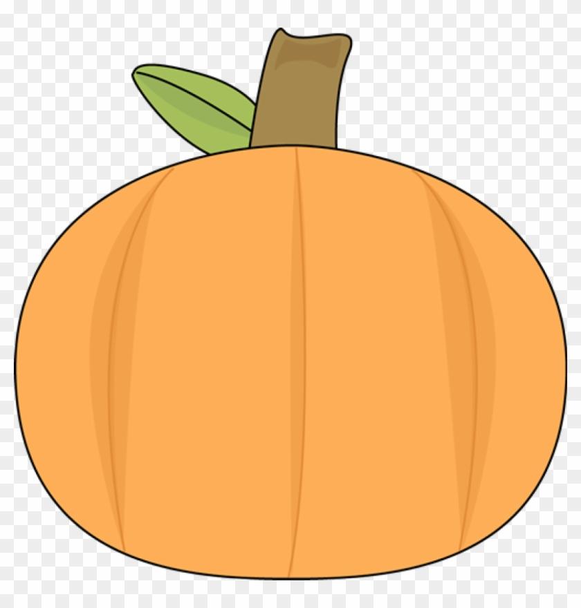 Plain Pumpkin - My Cute Graphics Pumpkin Clipart #23849