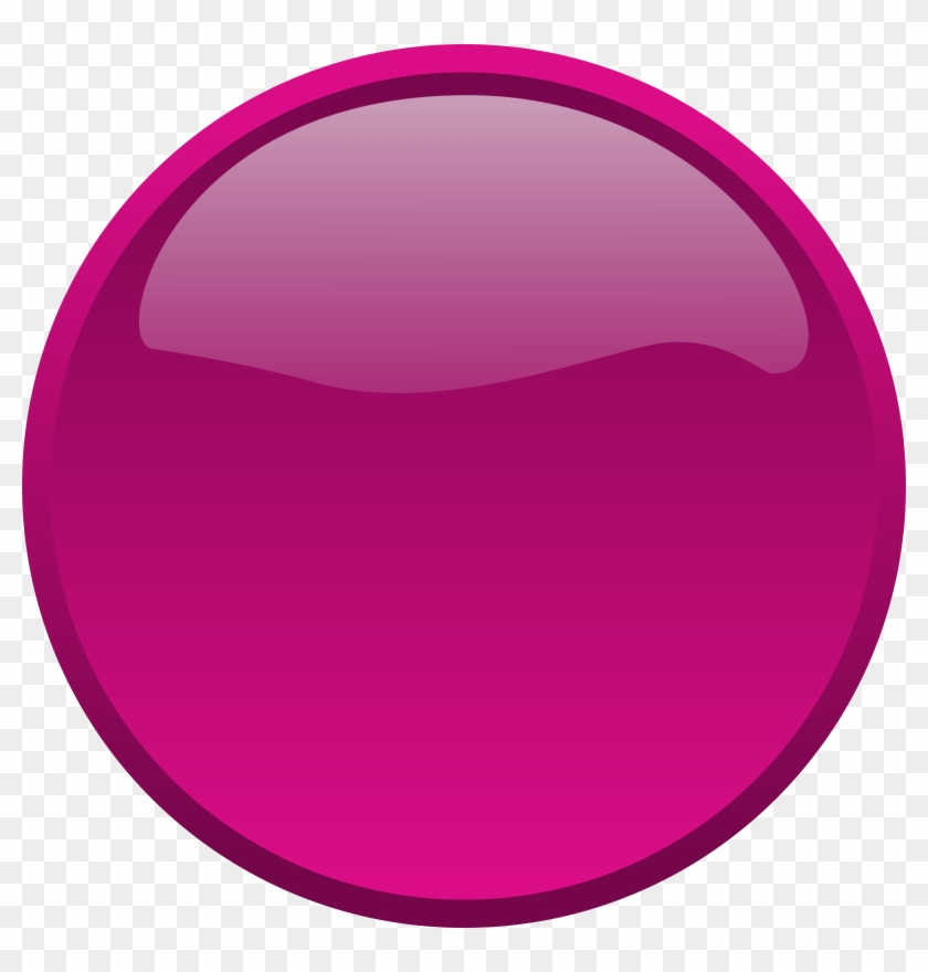 Prodraw Graphics - Purple Button Png #23850