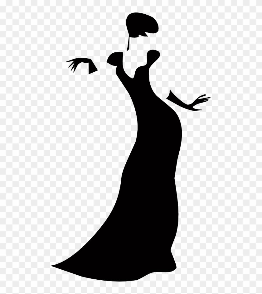Romanov Dark Lady Clip Art At Clker - Lady Clip Art #23857