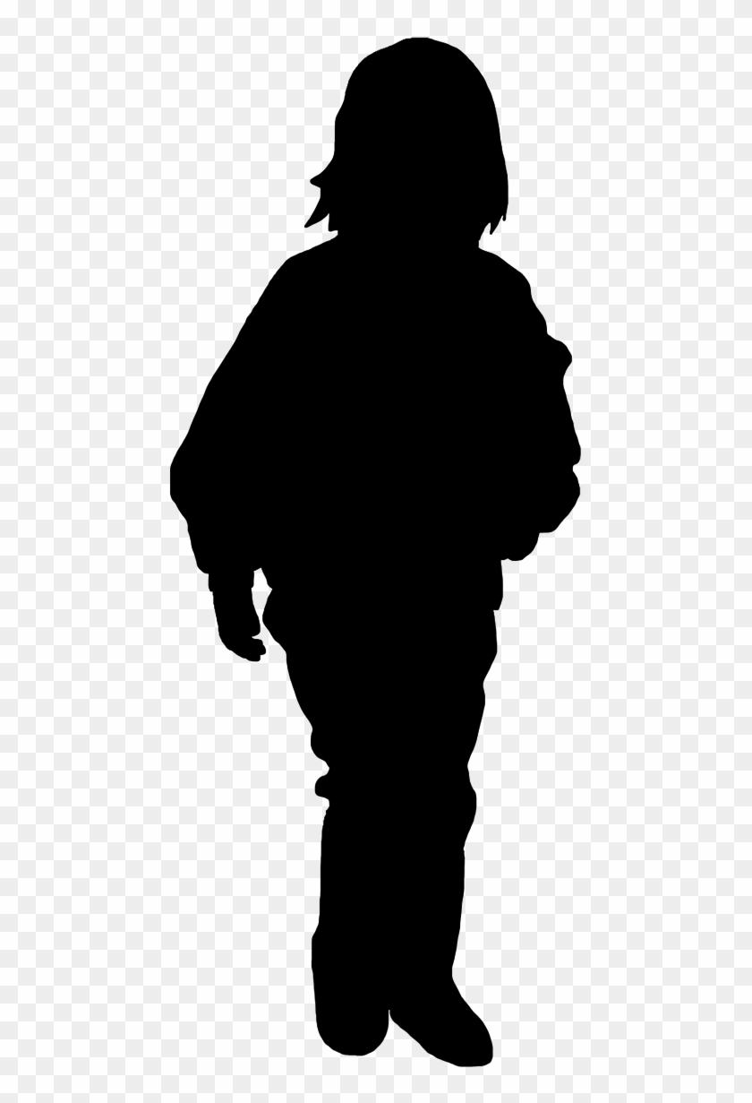 Baby Girl Silhouette Clip Art - Silhouette #23859