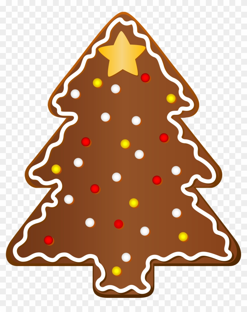 Christmas Cookie Tree Clipart - Christmas Cookie Png #23891