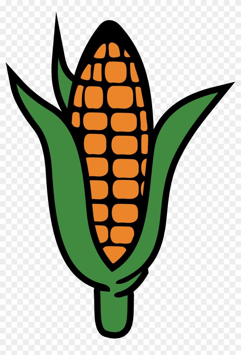 Big Image - Corn Plant Clip Art #23877