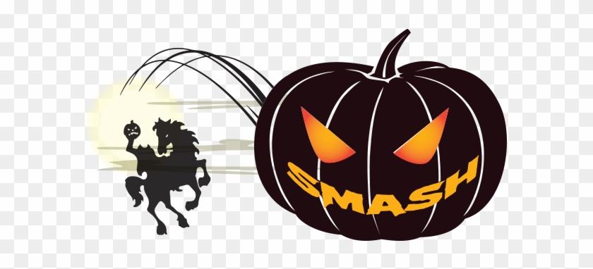Smashing Pumpkin Clip Art - Clip Art #23889