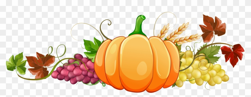 Autumn Pumpkin Decor Clipart Png Image - Fall Pumpkin Clip Art #23929