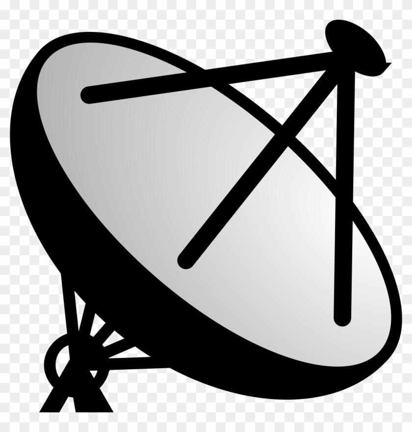 Satellite Dish Clip Art - Dish Antenna Clip Art #23968