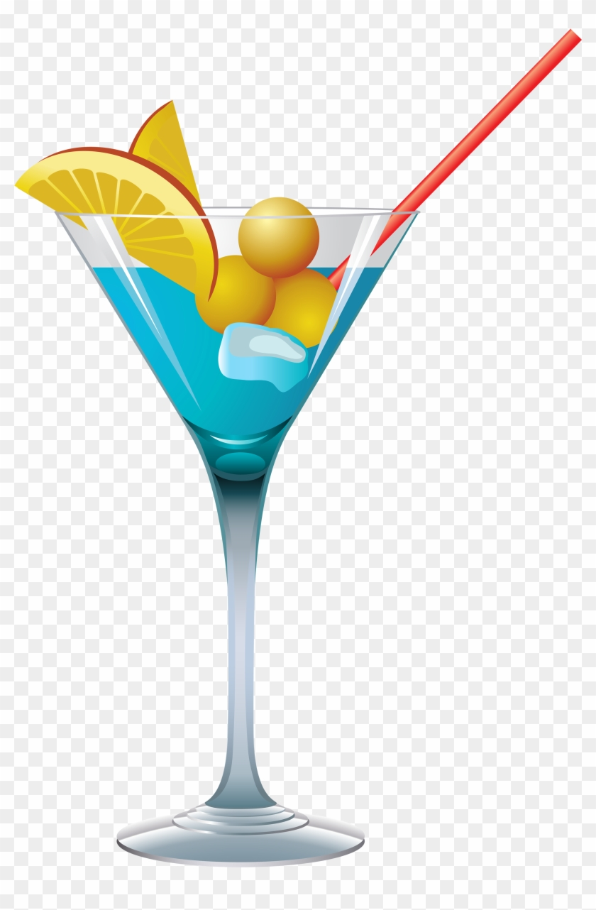 Cocktail Clipart Transparent - Cocktail Png #23976