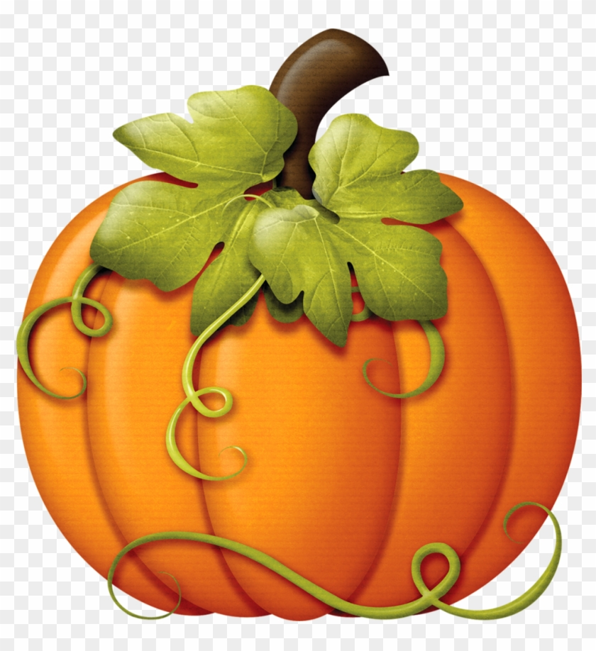 This Is Clipart But Is A Good Pic For A Fancy Pumpkin - Fall Pumpkin Clip Art #23973