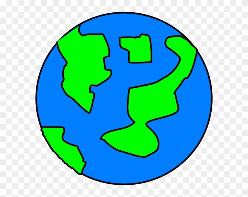 Earth Clip Art At Clker - Clip Art #23975