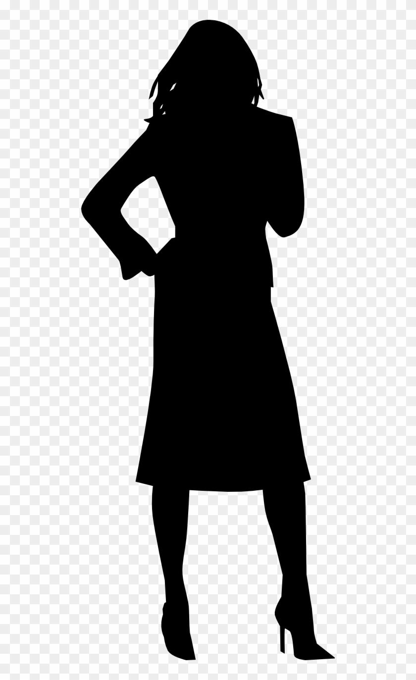 Clip Art Woman Tumundografico - Woman Silhouette Clip Art #24001