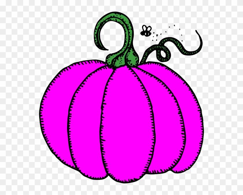 Pumpkin Clipart Purple - Pumpkin Clip Art #24011