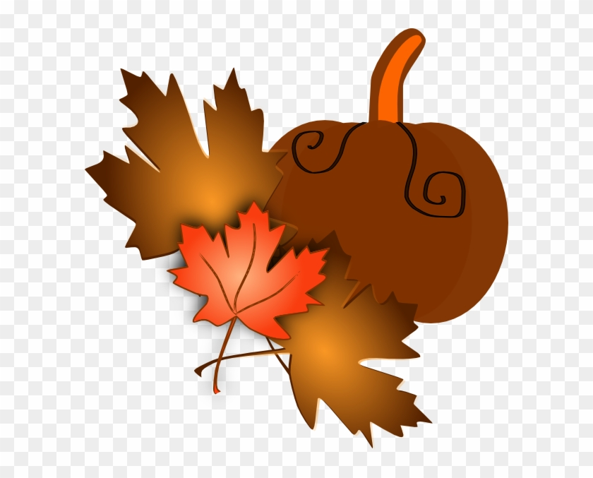 Fall Leaves Clip Art #24020