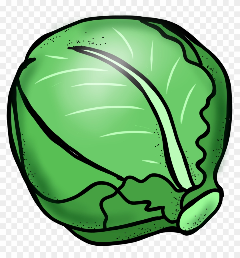 Cabbage Black And White Clipart Free Clip Art Images - Clipart Black And White Vegetables #24027