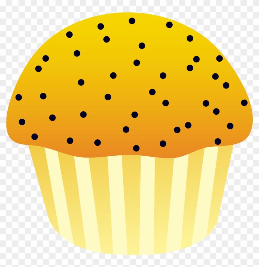 Corn Muffin Cliparts - Muffin Clip Art #24044