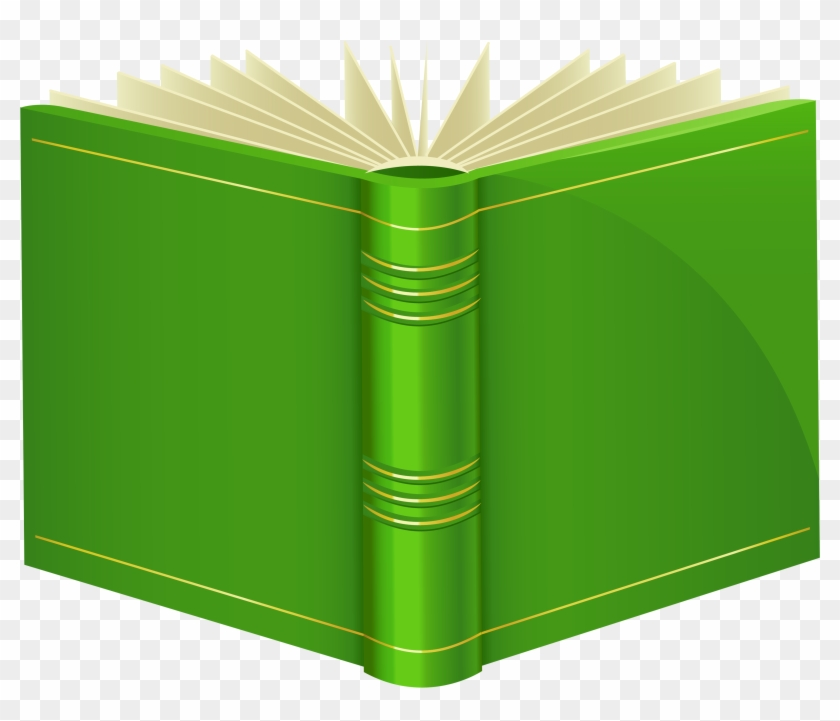 Green Book Png Clipart Best Web - Png Book Clipart #24057
