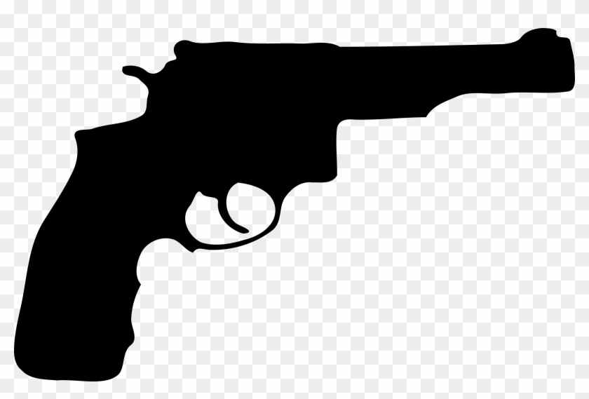 Gun Clip Art Free Clipart Images - Pistol Vector #24062