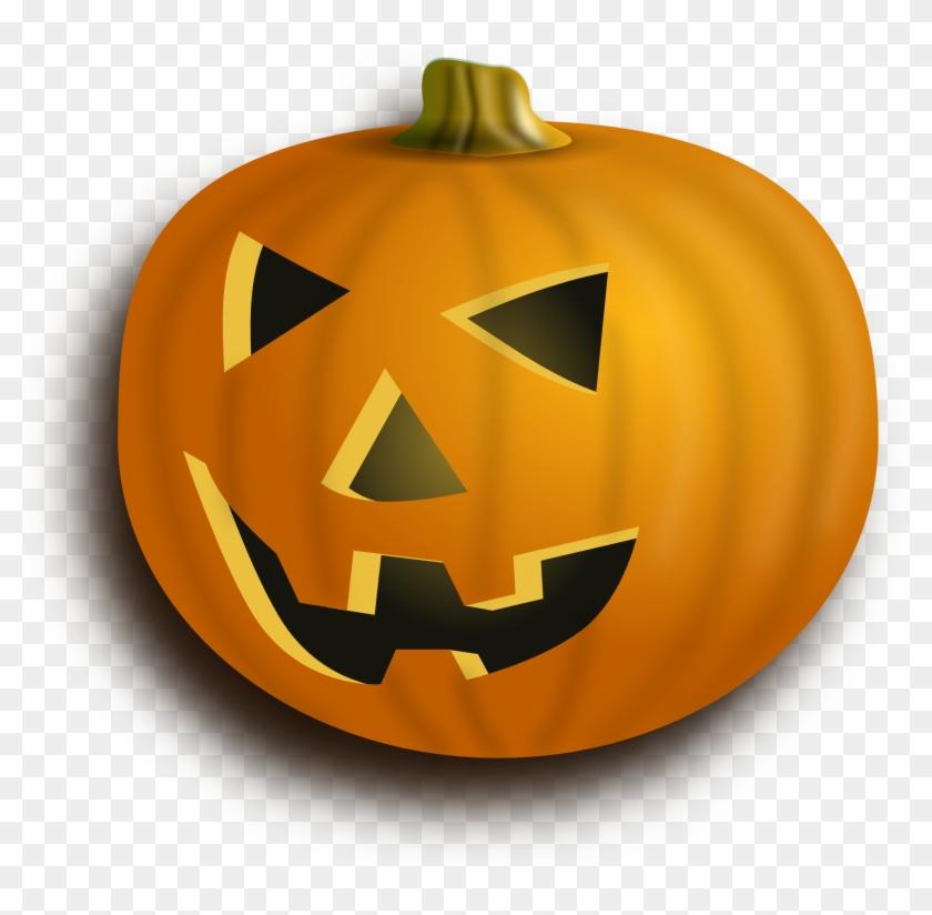 Halloween Pumpkin Clip Art Transparent - Carved Pumpkin Transparent Background #24067