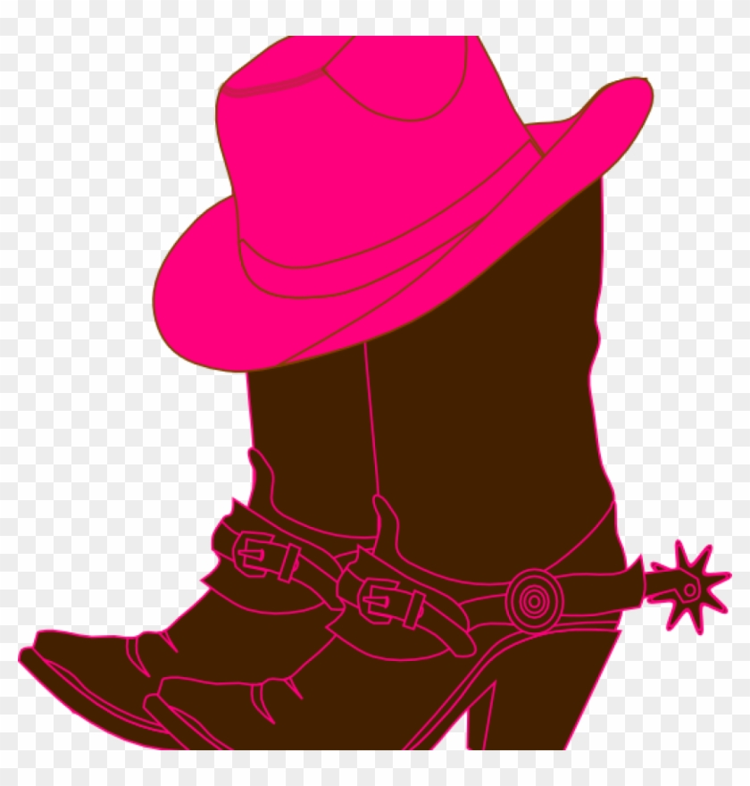 Cowgirl Clipart Cowgirl Boots Clip Art At Clker Vector - Cowboy Boot Clip Art #24123