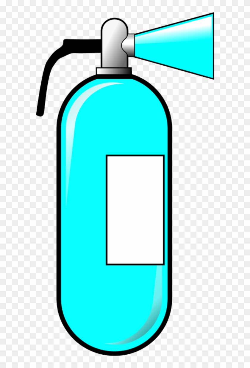 Fire Extinguisher Clipart - Cartoon Fire Extinguisher #24126