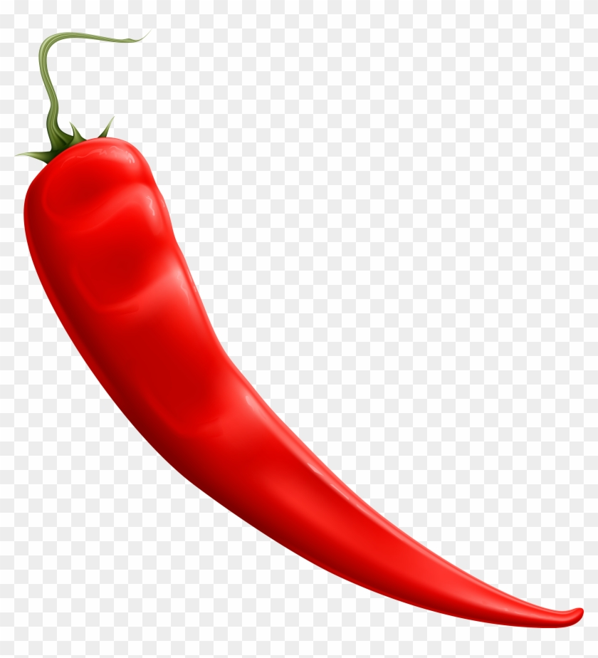 Red Chili Pepper Clipart Web - Chili Png #24151