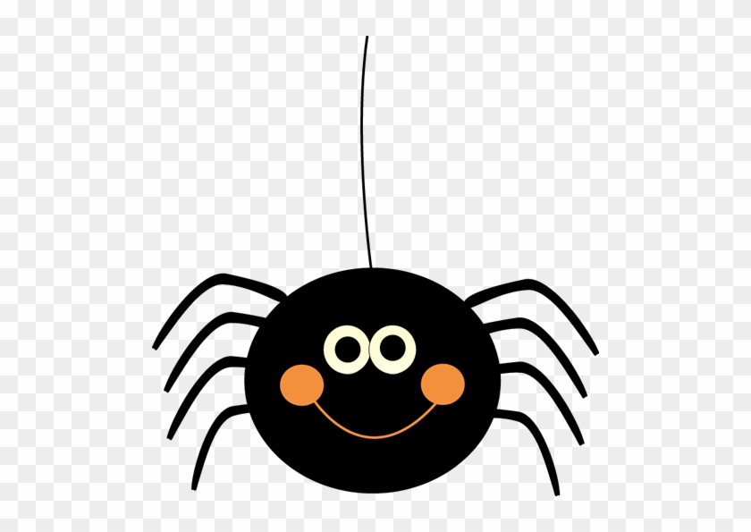 Halloween Spiders Clipart Free, Cute Spider Web Clipart - Cute Halloween Clip Art #24173