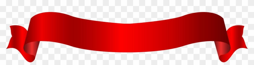 Web Banner Red Clip Art - Png Banner Sticker #24187