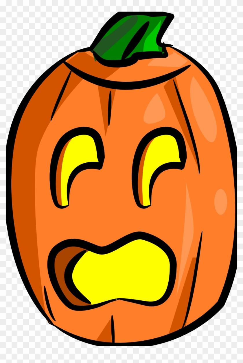 Jack O Lantern Totally Free Clip Art - Scared Jack O Lantern Clipart #24185