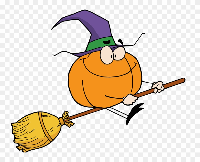 Pix For Witch Broom Clip Art - Clipart Witch On Broomstick #24189