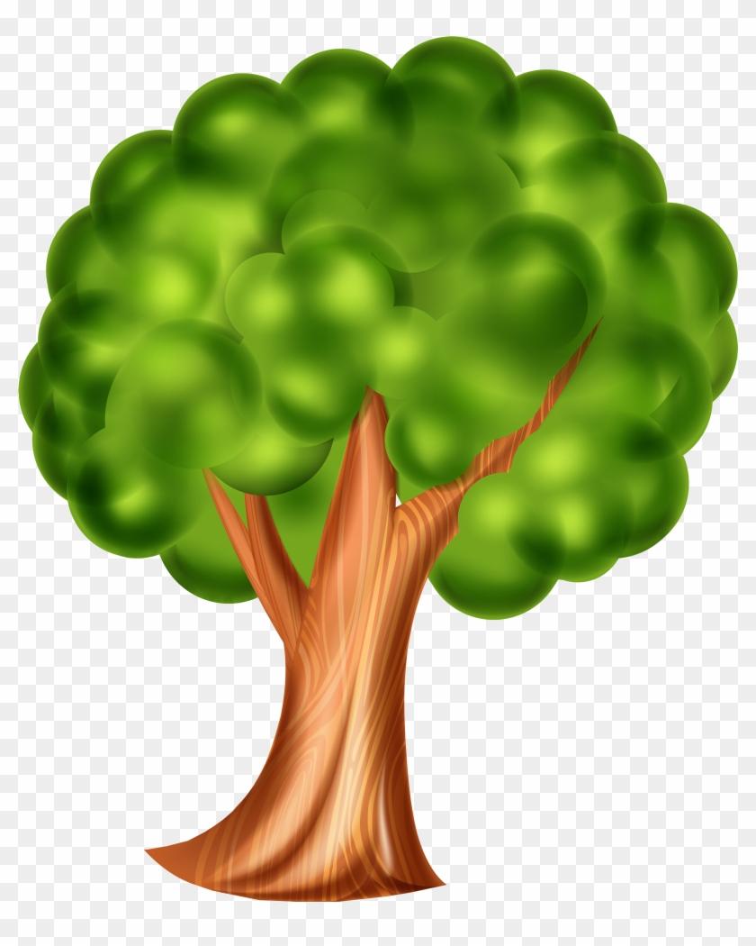 Tree Png Clip Art - 3d Trees Png Clipart #24208