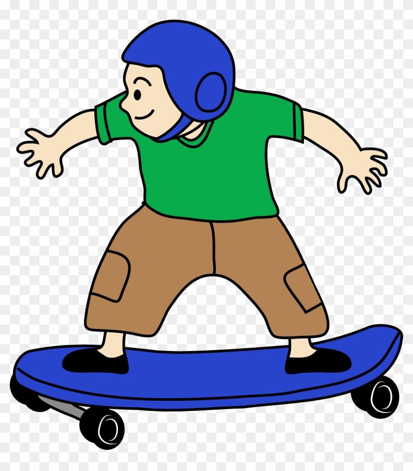 Skateboard Clip Art Free - Skateboard Clipart #24210