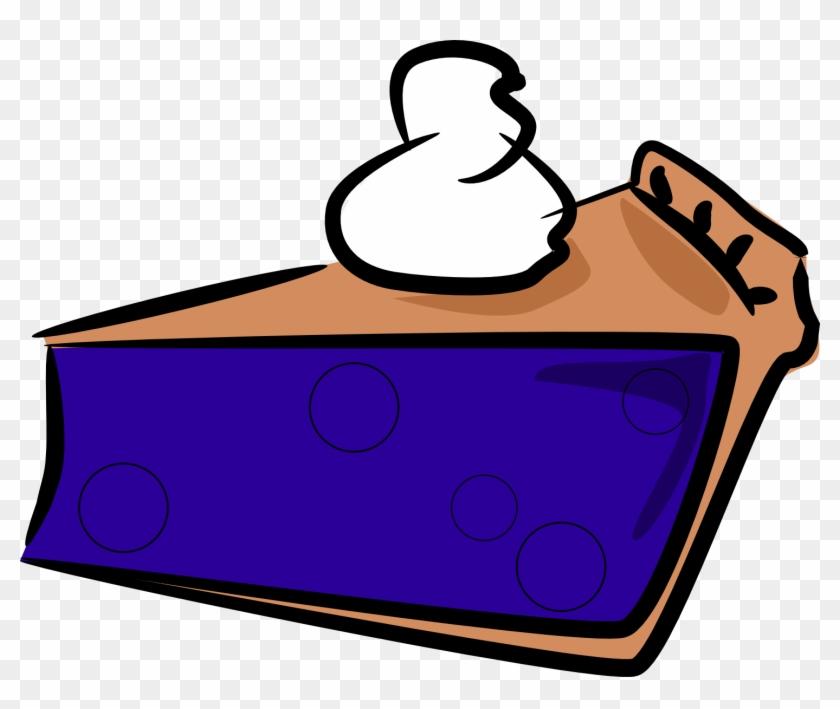 Clip Art Pumpkin Pies Clipart - Blueberry Pie Clip Art #24200