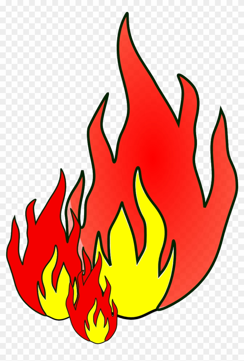 How To Draw Flames Archives - Fire Clip Art #24227