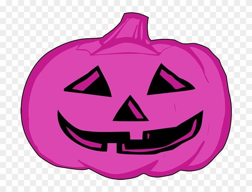Pumpkin Clipart Purple - Pumpkin Clip Art #24234