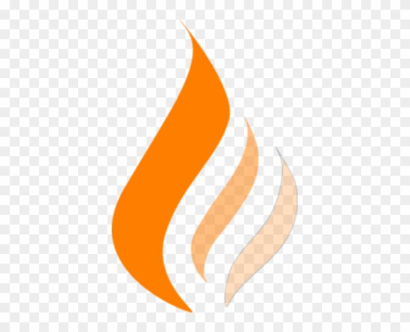 Flame Clip Art - Orange Flame Clipart #24287