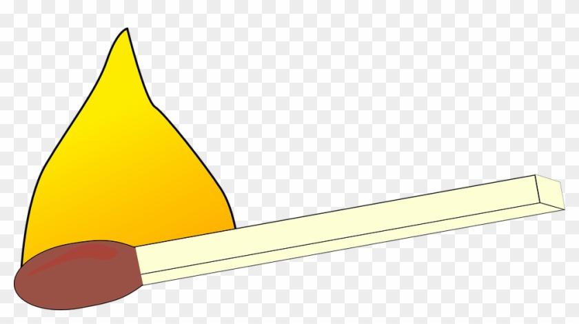 Match Burning Fire Lit Matchstick Smoke Flammable - Free Clipart Match #24289