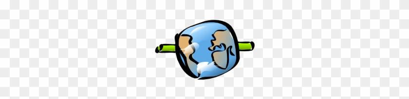 Free Vector Internet Globe Earth Network Clip Art - Clip Art #24298