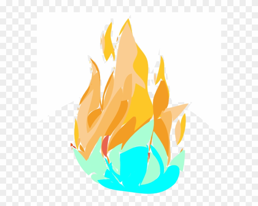 Clip Art Fire And Ice #24308