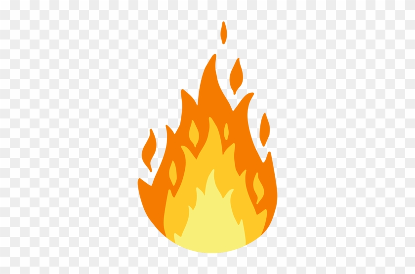 Flame Clipart - Transparent Flame #24350