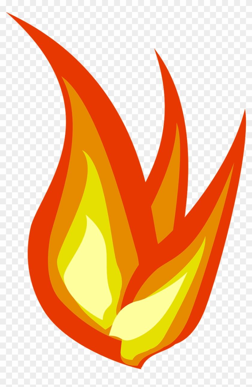 Burn Clipart Small Fire - Mini Fire Cartoon #24377