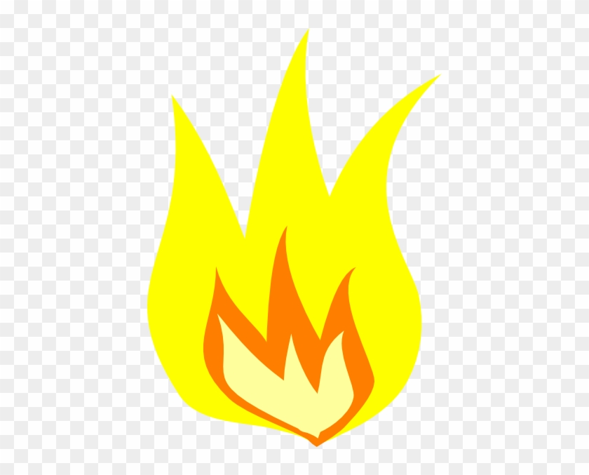 Clipart Flames Of Fire Images - Yellowfire #24414