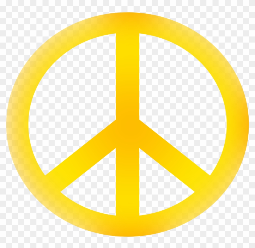 Peace Sign Clipart Kid - Peace Symbol And Meaning #24429